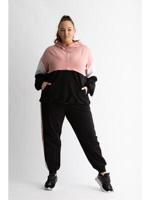 Trening Mixted Pink Plus Size